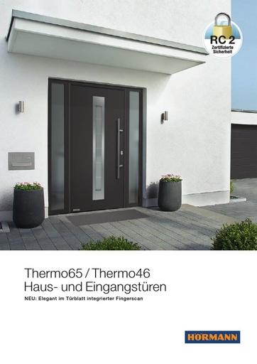 Haus und Eingangstueren Thermo65 Thermo46 85828 DE