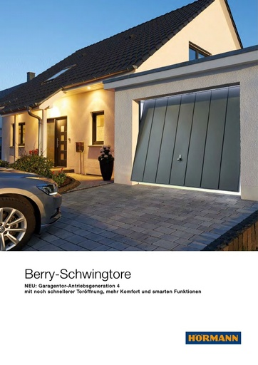 85187 Berry Schwingtore DE